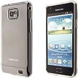 ECENCE Silicone Case - Carcasa para Samsung Galaxy S2/S2 Plus, transparente