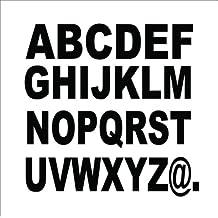 120 x Letra Pegatina Adhesivo vinilo / altura 10 cm (120 unidades), diseño