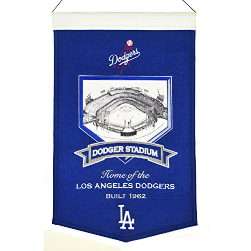 MLB Baseball Los Angeles L.A. Dodgers Dodger Park Stadium Wimpel Pennant Banner 58x38 -