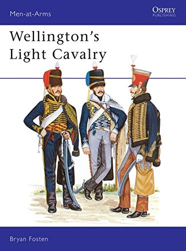 Wellington's Light Cavalry (Men-at-Arms) por Bryan Fosten