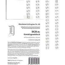 HGB im dtv (2016), Original Dürckheim Griffregister Nr. 135: 64 bedruckte Aufkleber