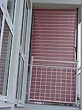 Angerer Balkon Sichtschutz Nr. 4900 terracotta, 150 cm breit, 2319/4900