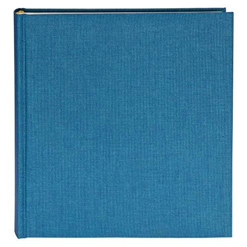 Goldbuch Fotoalbum, Summertime, 30 x 31 cm, 100 weiße Seiten mit Pergamin-Trennblättern, Leinen, Hellblau, 31711