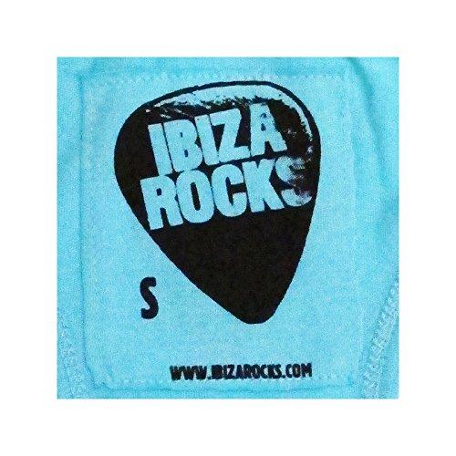 Ibiza Rocks: 99 Reasons Canotta con Dorso a Vogatore Turchese