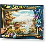 Schipper 609130377 - Malen nach Zahlen - Am Seeufer, 40x50cm