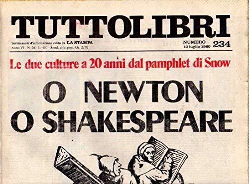Tuttolibri n. 234 del Luglio 1980 Fachinelli, Ferlinghetti, Gorresio