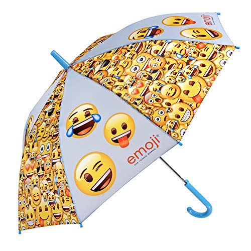 Paraguas Emoji Niños Niñas   Paraguas Fibra Vidrio