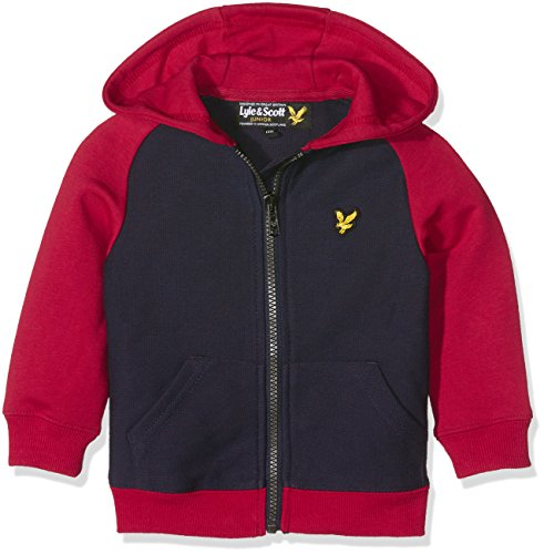 lyle-scott-baby-boys-0-24m-double-faced-zip-up-hoodie-multicoloured-royal-red-12-18-months-manufactu