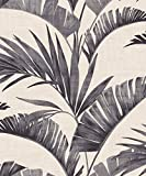 Arthouse 610601 Banana Palm Tapete Kollektion Journeys, Charcoal, 10.05 x 0.53 m
