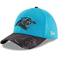 A NEW ERA NFL Sideline 39thirty Carpan OTC Gorra Línea Carolina Panthers de Tenis, Hombre