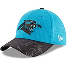 New Era Nfl Sideline 39Thirty Carpan Otc - Gorra Línea Carolina Panthers para hombre, color azul, talla L-XL