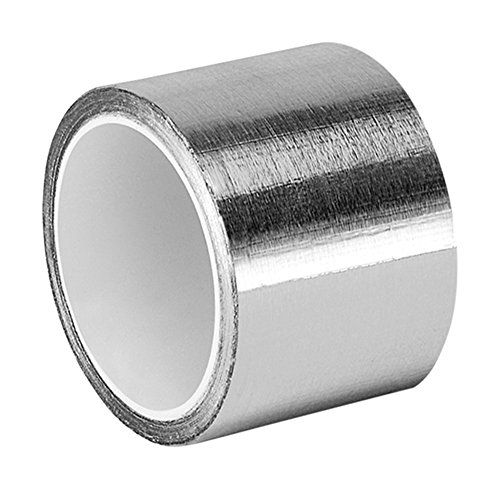 TapeCase 2-5-3311 3311 Aluminium-Klebeband, 5,1 x 1,27 m, silberfarben, 1 Rolle