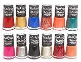 #5: Makeup Mania Exclusive Nail Polish Set of 12 Pcs (Multicolor Set # 79)
