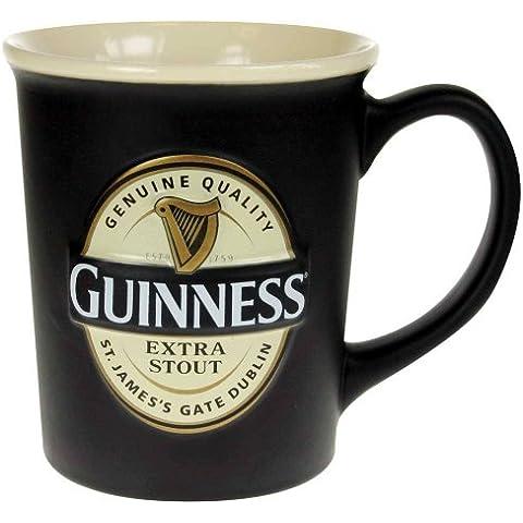 Taza En Relieve Etiqueta Guinness