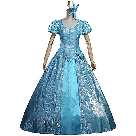 """Cosrea Disney """"La Sirenetta"""", colore: blu satinato, Costume per adulti"""