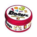 Asmodee–DOCF01N–Action- und Lernspiele–Dobble Chiffres et Formes