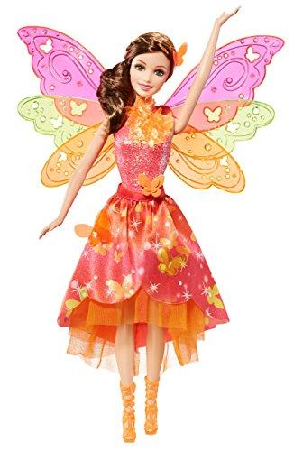 Preisvergleich Produktbild Mattel Barbie BLP26 - Barbie und die geheime Tür Magische Fee mit Funktion, Puppe