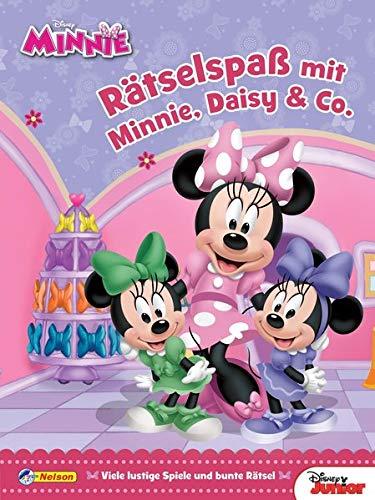 Disney Minnie Maus: Rätselspaß mit Minnie, Daisy & Co.