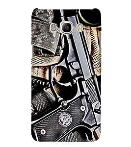 GUN Designer Back Case Cover for Samsung Galaxy J7::Samsung Galaxy J7 J700F
