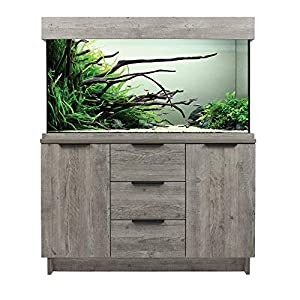 Aqua One Urban Oak Style Aquarium Fish Tank with Cabinet 116cm 230L