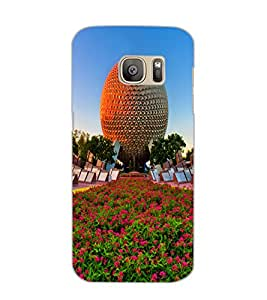 SAMSUNG GALAXY S7 EDGE GARDEN Back Cover by PRINTSWAG