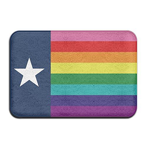 Rainbow Flagge LGBT Pride Texas Flagge Schmutzfangmatten 4060cm