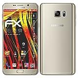 atFolix Folie für Samsung Galaxy Note 5 (SM-N920) Displayschutzfolie - 3er Set FX-Antireflex-HD hochauflösende entspiegelnde Schutzfolie