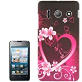 MECAWEB Custodia Cover Guscio PLASTICA Mascherina per Smartphone Huawei Y300 Y300C