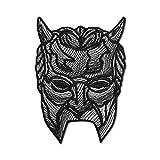 Ghost BC - Máscara de metal pesado para gafas, diseño de rock duro...