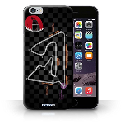 Kobalt® Imprimé Etui / Coque pour iPhone 6+/Plus 5.5 / USA/Austin conception / Série 2014 F1 Piste Bahreïn/Sakhir