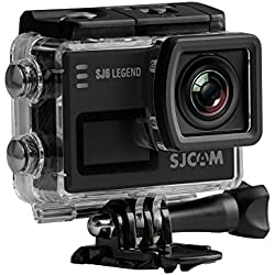 SJCam SJ6 Legend (versión española) - Cámara deportiva 4K de 16 MP (procesador Novatek 96660, WiFi, pantalla táctil de 2.0'') color negro