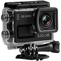 SJCAM SJ6 Legend, Cámara deportiva 4K de 16 MP, procesador Novatek 96660, WiFi, pantalla táctil de 2.0\'\', color negro