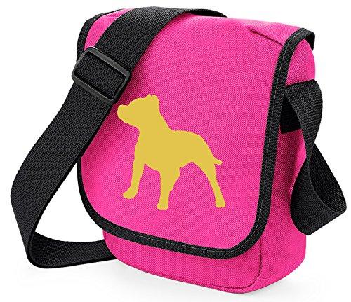 Bag Pixie, Borsa a spalla donna Fawn Dog on Pink