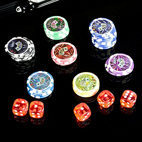 Pokerkoffer 500 Pokerchips BLACK EDITIO...