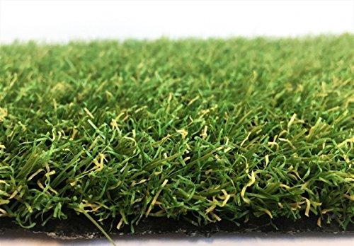 Kunstrasen Ibiza Grün / 20 mm 1.350 g/m² / Rasenteppich nach Maß / strapazierfähig, langlebig und pflegeleicht / indoor wie...