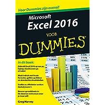 Microsoft Excel 2016 voor Dummies (Dutch Edition)