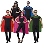 Superheldenumhang & Maske Superheld K...