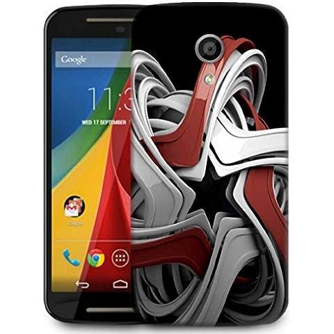 Cover posteriore Snoogg telefono designer di protezione per Motorola Moto