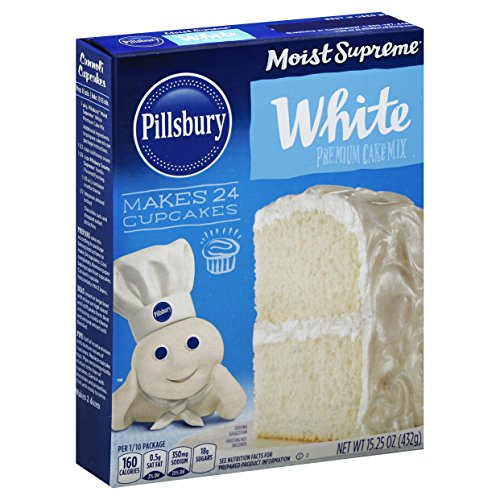 Pillsbury Moist Supreme Premium Classic White Cake Mix (432g) - US Import!