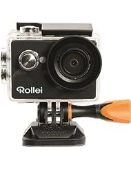Rollei Actioncam 416 - Full HD Video Auflösung, Weitwinkel-Objektiv, bis 40m wasserfest, integriertes WiFi, inkl. Unterwasserschutzgehäuse - schwarz