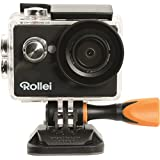 Rollei Actioncam 416 - Résolution Vidéo Full HD 1080p - avec Protection Sous-Marine jusqu'à 40 Metres Noir
