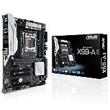 Asus X99-A II Mainboard (Sockel 2011-v3, ATX, Intel X99, 8x DDR4-Speicher, USB 3.1, M.2 Schnittstelle)