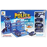 Toys Bhoomi Safe Zone City Police Parking Lot Garage Toy Playset