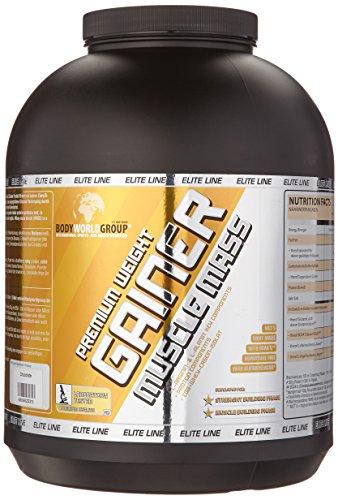 BWG Premium Weight Gainer Muscle Mass, Elite Line, Premium Chocolate Mass, 1er Pack (1 x 5000 g)