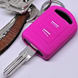 Soft Case Schutz Hülle Auto Schlüssel Opel Combo C Corsa C Meriva A Tigra TwinTop/Farbe: Pink
