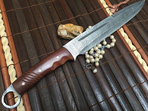 benutzerdefinierte-handgemachte-damast-jagdmesser