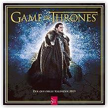 Game of Thrones 2019 - 18-Monatskalender (Wall-Kalender)
