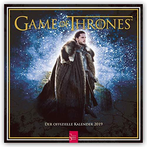 Game of Thrones 2019 - 18-Monatskalender (Wall-Kalender) - Film Kalender