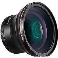 Neewer 55mm 0,43x Professionelle HD-Weitwinkelobjektiv mit Makro für D3400, D5600, Sony A33, A55, A57, A58, A65,A68, A77, A77II, A99, A99II, A390, A58,A100, A900, A850, A700, A500 DSLR-Kameras