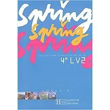 Spring anglais, 4e LV2 (livre de l'élève)